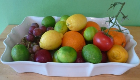 Eliza turns her new $19.99 casserole into a fun fruit bowl.