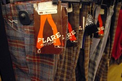 Non-ironic polyester kids' pants: 3 for $25.