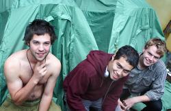 Bushwick summer rental: a $100 tent