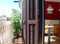 Your terrace in Barcelona. Pick two weeks from July 15 to August 30.