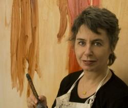 Battenfield in her studio.