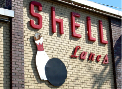 Shell Lanes, photo by Gary Jarvis.