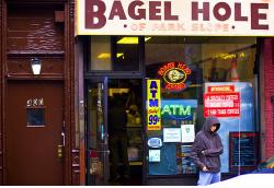 Bagel Hole, photo by Jill Harrison
