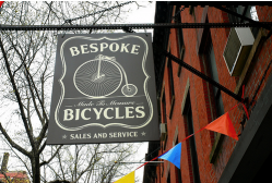Bespoke Bicycles, photo by Lesterhead.