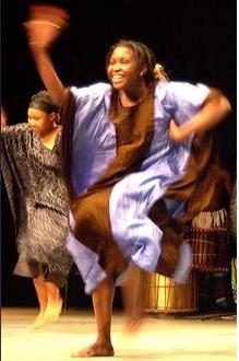 Brooklyn is full of African dance, like Marie Basse Wile's classes at Maimouna Keita School.