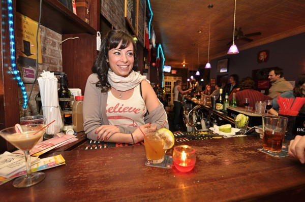 Miriam believes in Santa, and not overspending on liquor