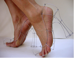 Why not wire... some shoes? Pumps by Poly Verity.