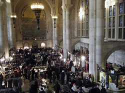 Brooklyn Flea + One Hanson Place = wowzers!