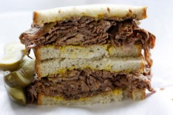The Brokavore's back, with a $5 brisket sandwich to cry for