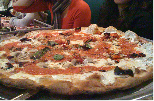 A Grimaldi's pie, photo courtesy of The Pocket (on Flickr).