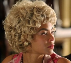Beyonce in Cadillac Records. Wonder who did her hair in this one.