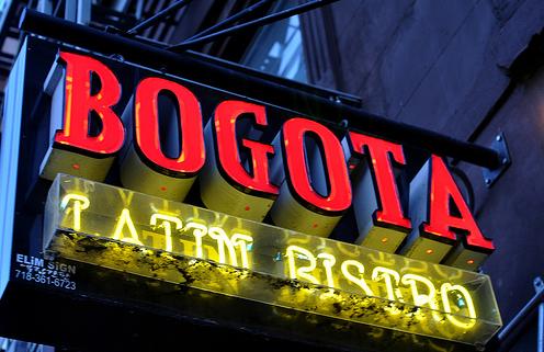 Another favorite: Bogota Bistro in Park Slope. Photo by Juan Hernandez.