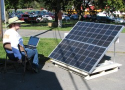 We can't all have solar-powered laptops.