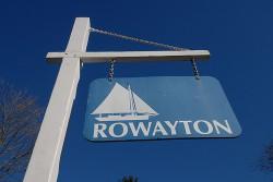 Rowayton sign