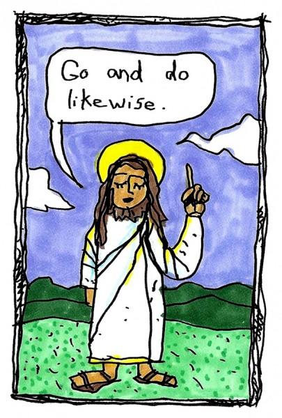 jesus zine