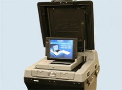The new voting machine. You know you wanna give it a whirl.