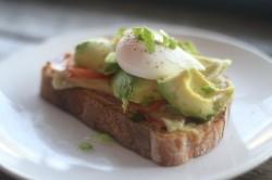 Milk Bar egg avocado sandwich