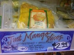 Trader Joe's mango slices