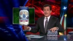 Colbert and Brokelyn review Walgreens' dirt-cheap beer