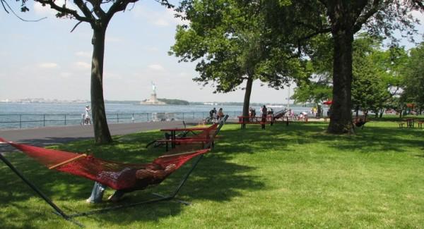 governors island hammocks