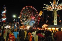 Locals ride for half price at Luna Park
