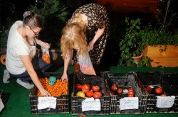 Swap old clothes for local food this Sunday