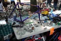 Saturday: A flea market just for pedal-philes