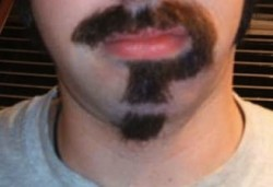 Shhh … a sneak peak at the Mustache Ride, only at the Brokedown Throwdown on Sunday!