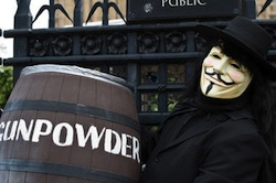 Remember, remember: The Guy Fawkes Day party is for free-loving radicals