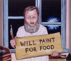 Starving artists: Feed your own for the holidays