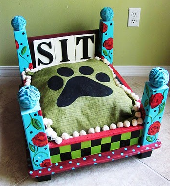 Brokelyn holiday gift guide: dog bed.
