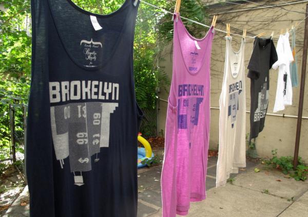 Brokelyn t-shirts