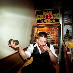 Tonight: Free skee-ball (free ballin'?)!