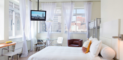 Rooms at the NU Hotel are $116 on Jetsetter