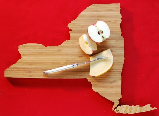 New York State cutting board
