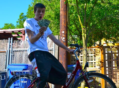 Peddle Power! Get discounts for arriving by bicycle