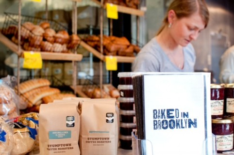 The Baked in Brooklyn storefront. Photo by Sarah Bibi.