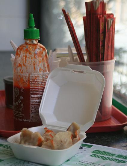 Manhattan import: Hello my little four-for-a-buck dumplings!
