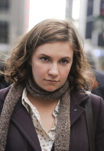 Lena Dunham's bad clothes