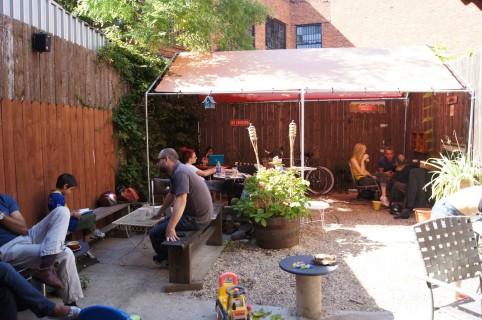 Laptop, coffee, suntan: Brooklyn's best places to do work outside