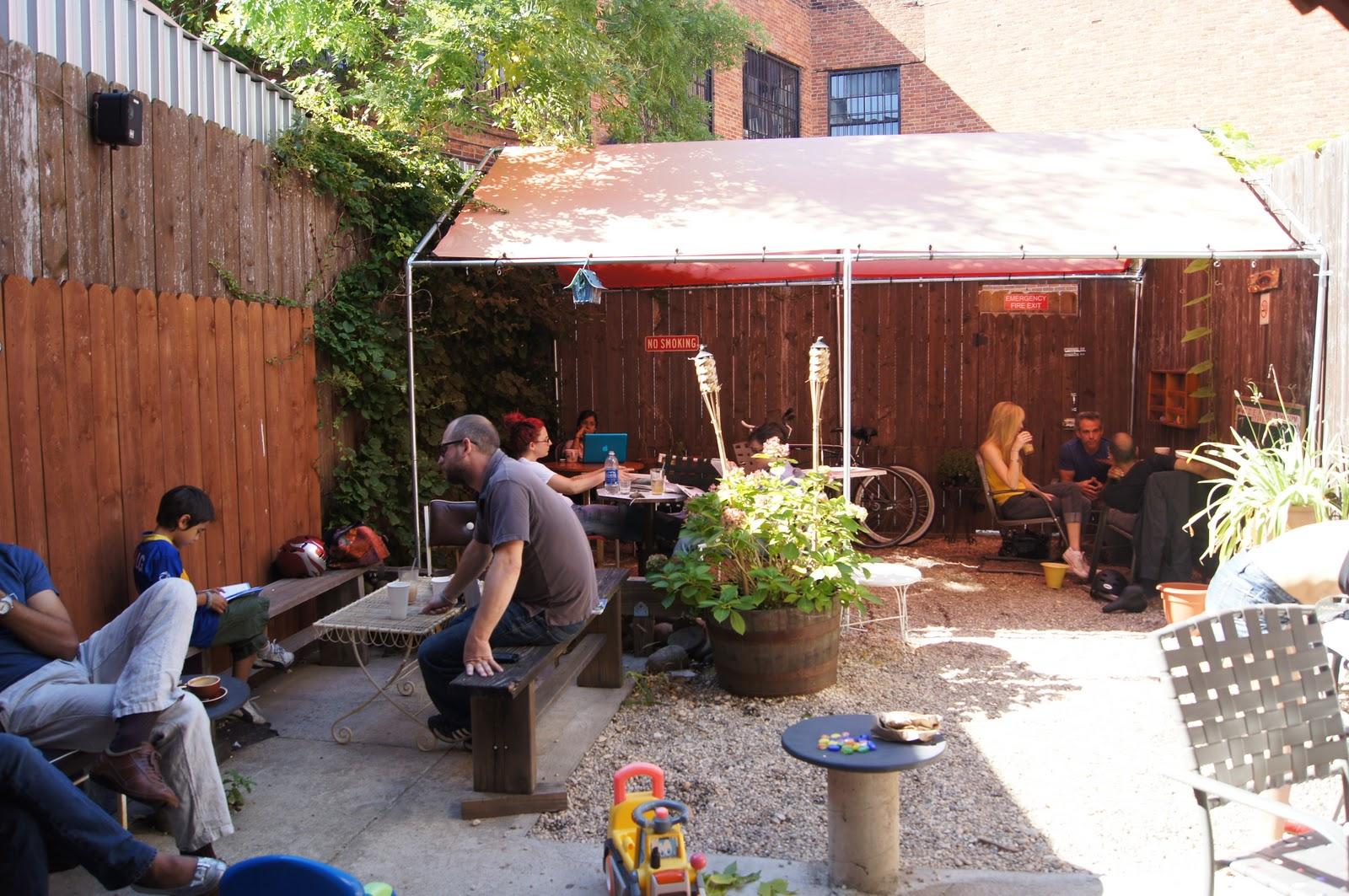 Laptop Coffee Suntan Brooklyn S Best Outdoor Cafes To Do Work In