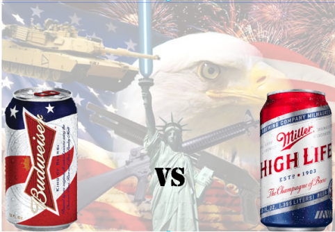 The great summer AmeriCan debate: Bud vs. Miller High Life