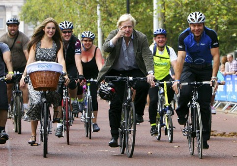 London's mayor: Bike Share will 'civilize' New York