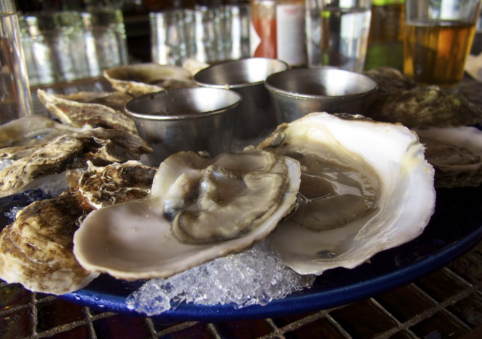 $1 Oysters at Cornelius.