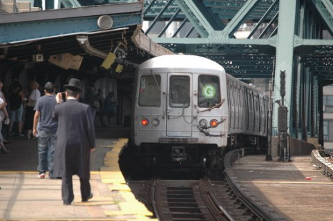 The G train is on the FASTRACK to a service interruption next week