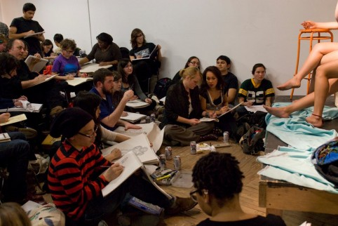 Artcoholics unite! 4 great drink-and-draw art classes in NYC