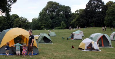 Register this week for free camping in NYC parks!