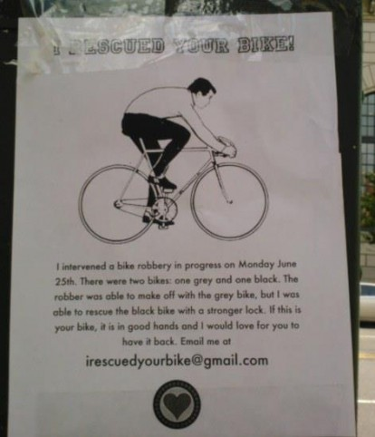 Court Street vigilante breaks up bike theft