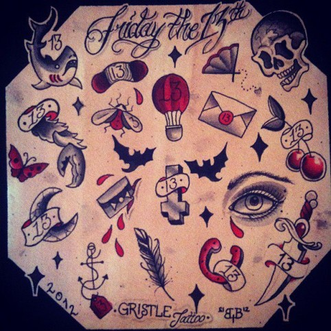 5 places to get $13 tattoos this Friday the 13th