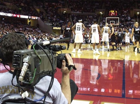 Job of the day: Shoot video for the Brooklyn Nets